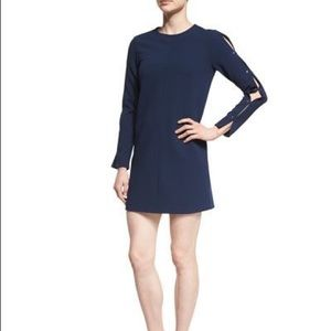 NEW Tibi Structured Crepe Button Detail Dress